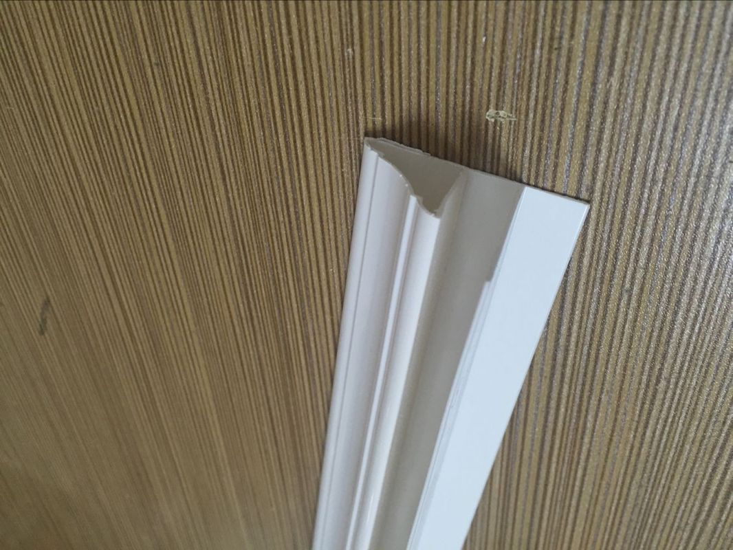 Durable Extruded PVC Profiles Top Jointer For Ceiling Corner Finish